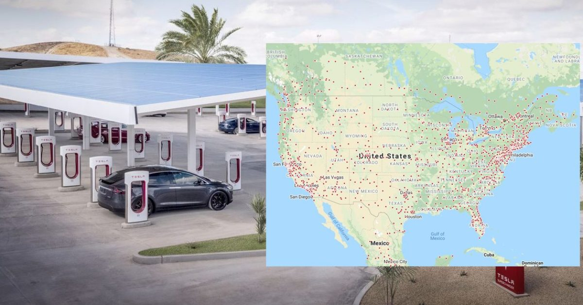 Tesla Supercharger network reaches 25,000-charger milestone - Electrek