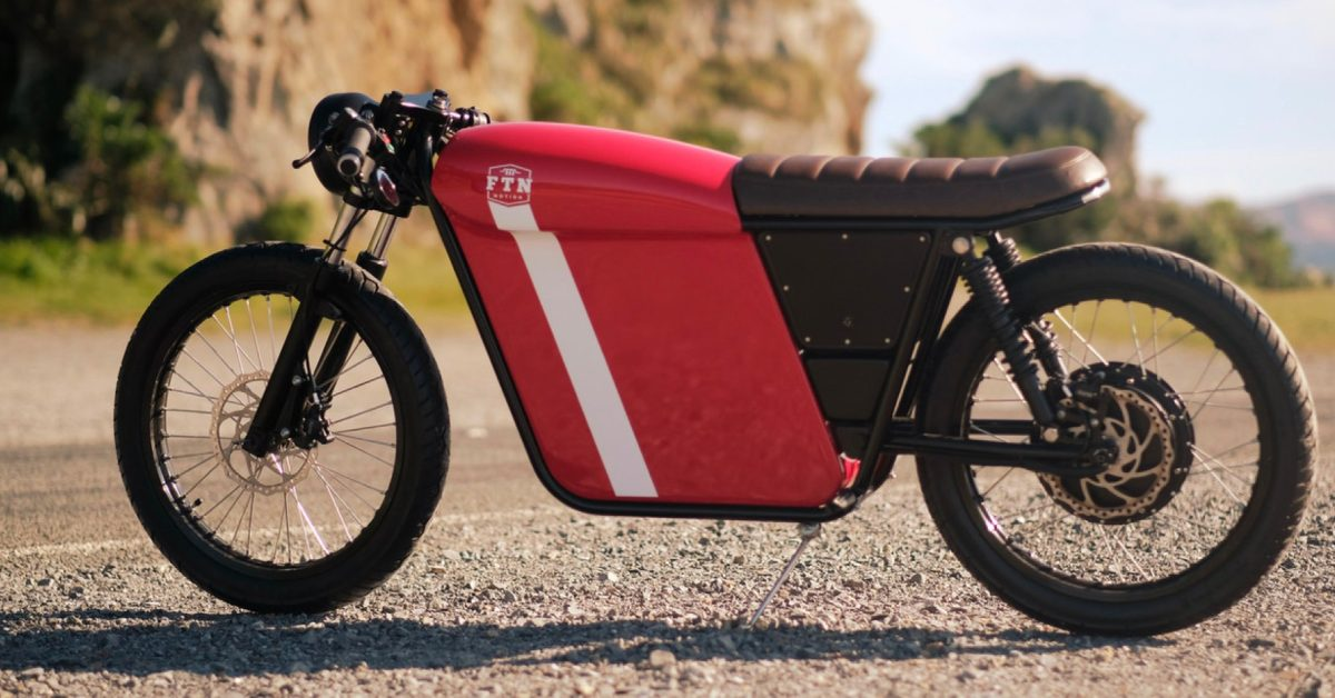 FTN's new electric motorbike has the one thing no one else has: storage