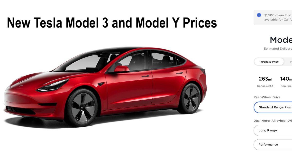 Tesla reduces Model 3 and Model Y prices, now starts under $37,000 - Electrek