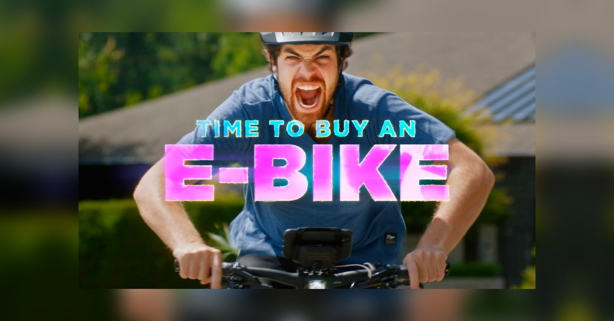 This hilarious video will absolutely convince you to buy an electric bicycle