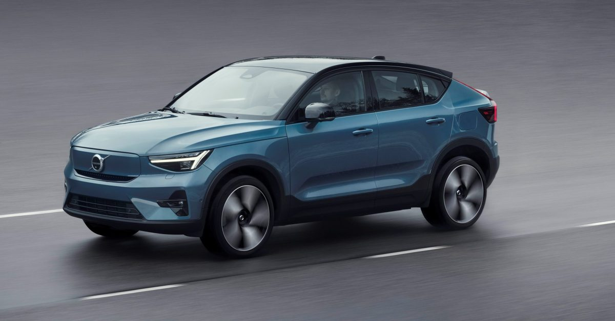 Volvo unveils C40 Recharge electric SUV with over 200 miles of range - Electrek