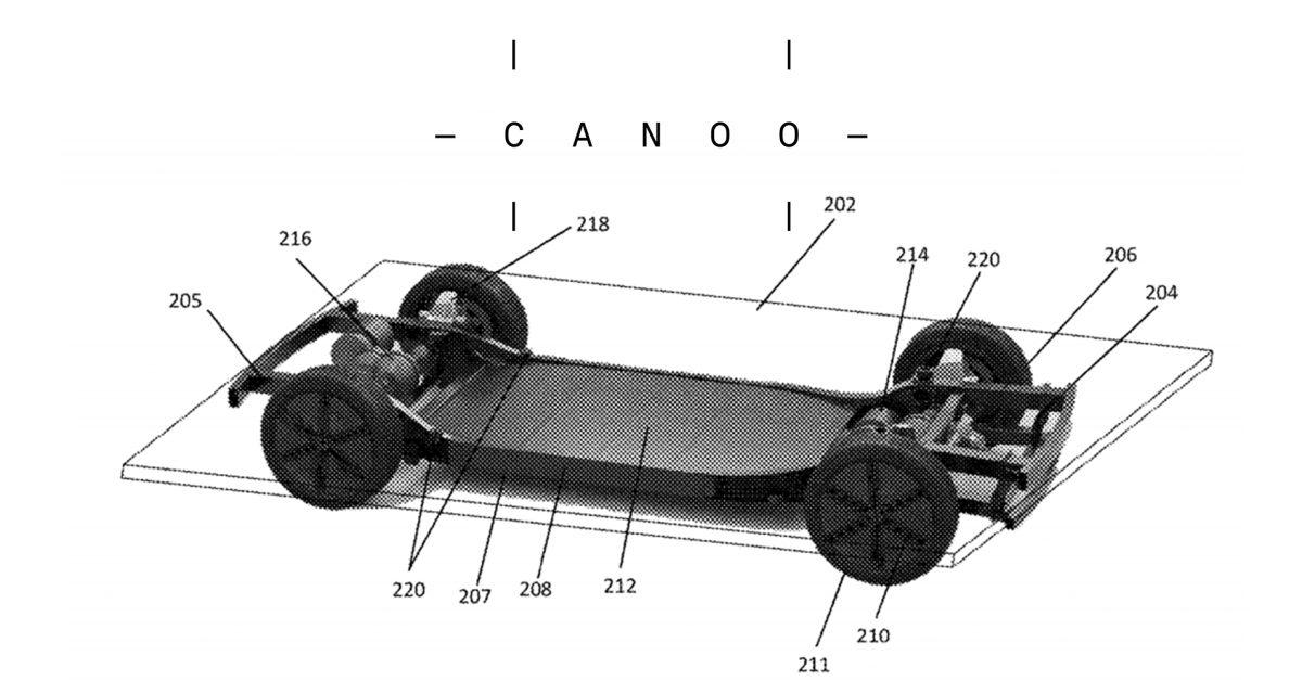 Canoo platform patent joins USPTO database; at least 50 more patents pending worldwide - Electrek