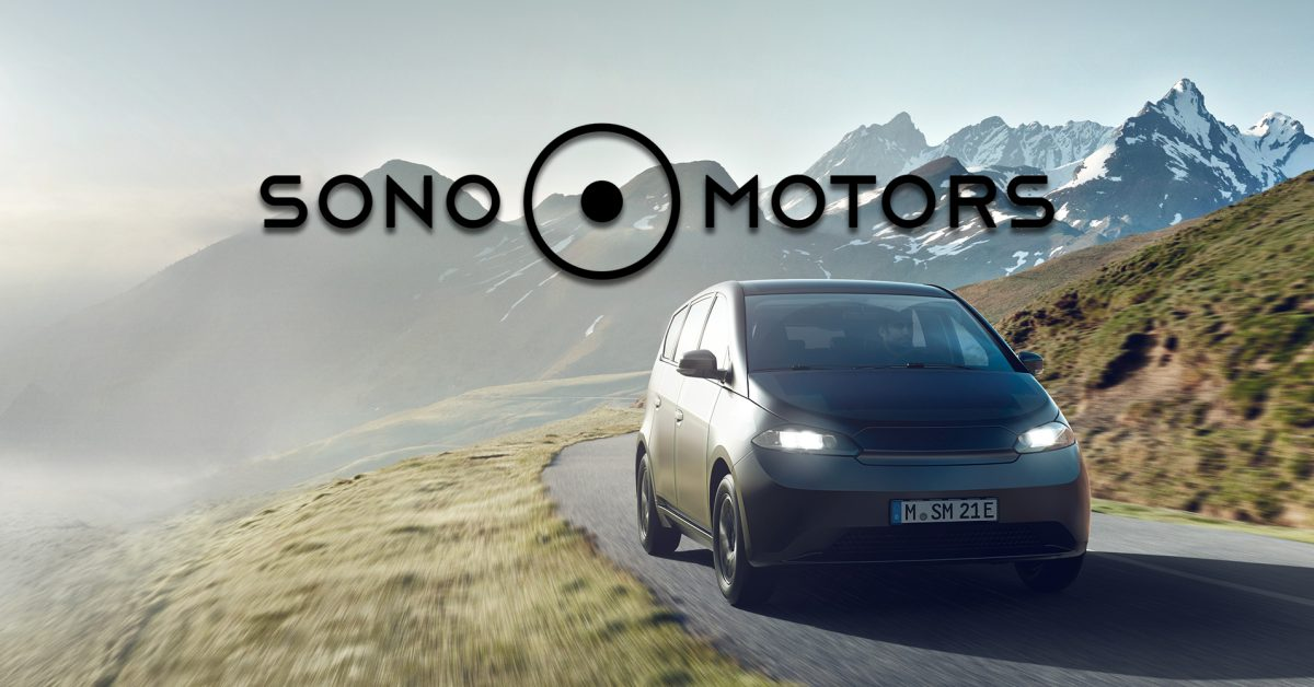 Electric vehicle spotlight (EVS): Sono Motors - Electrek