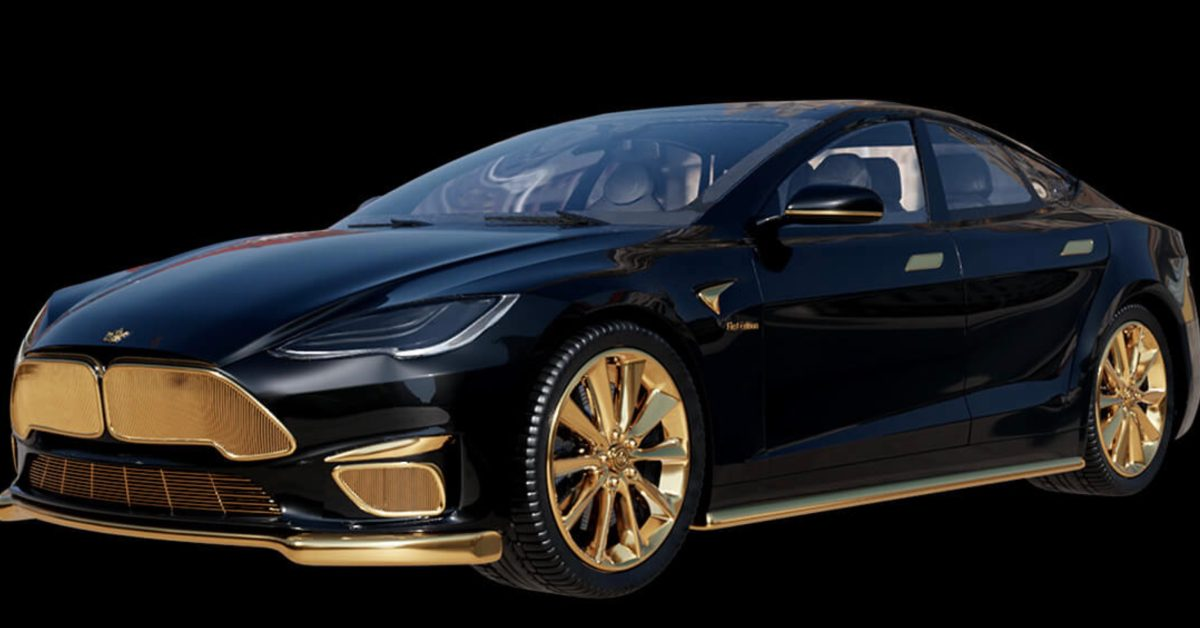 Tesla Model S Plaid+ gets Caviar's gold treatment, becomes most expensive and stupidest Tesla yet thumbnail