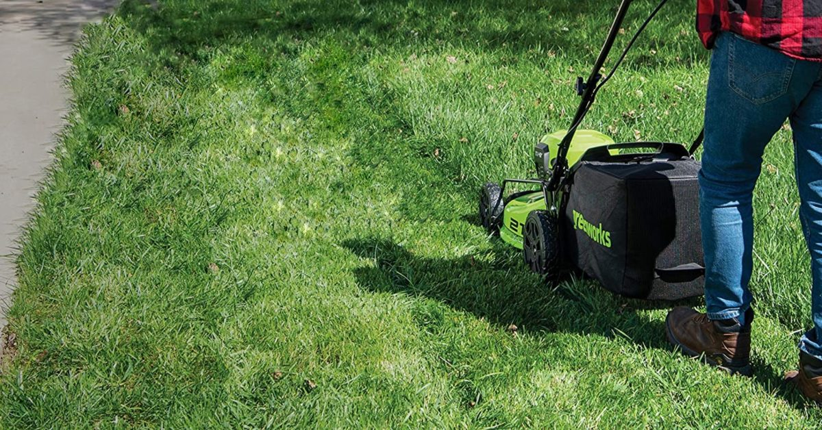 Green Deals: Greenworks 21-inch 48V electric mower simplifies yard chores at $300, more - Electrek