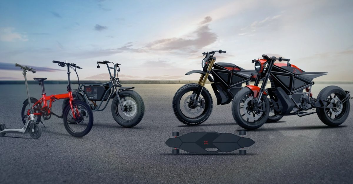 X Mobility launches low-cost electric bikes, scooters and teases motorcycle