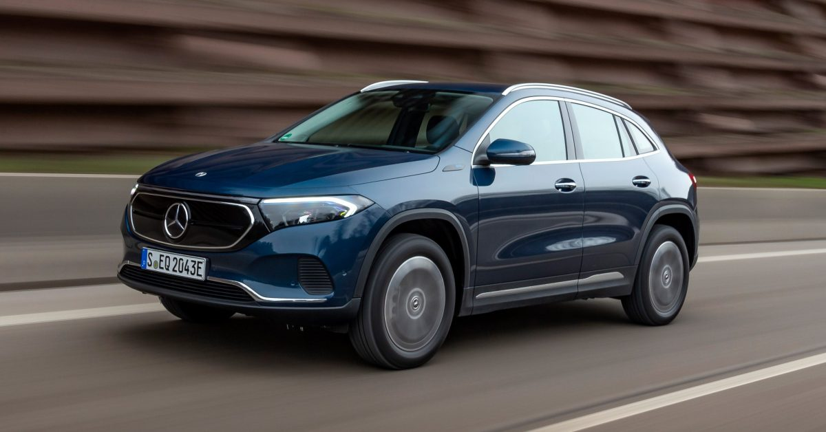 photo of Mercedes-Benz launches 2 new all-wheel-drive versions of the EQA electric crossover image