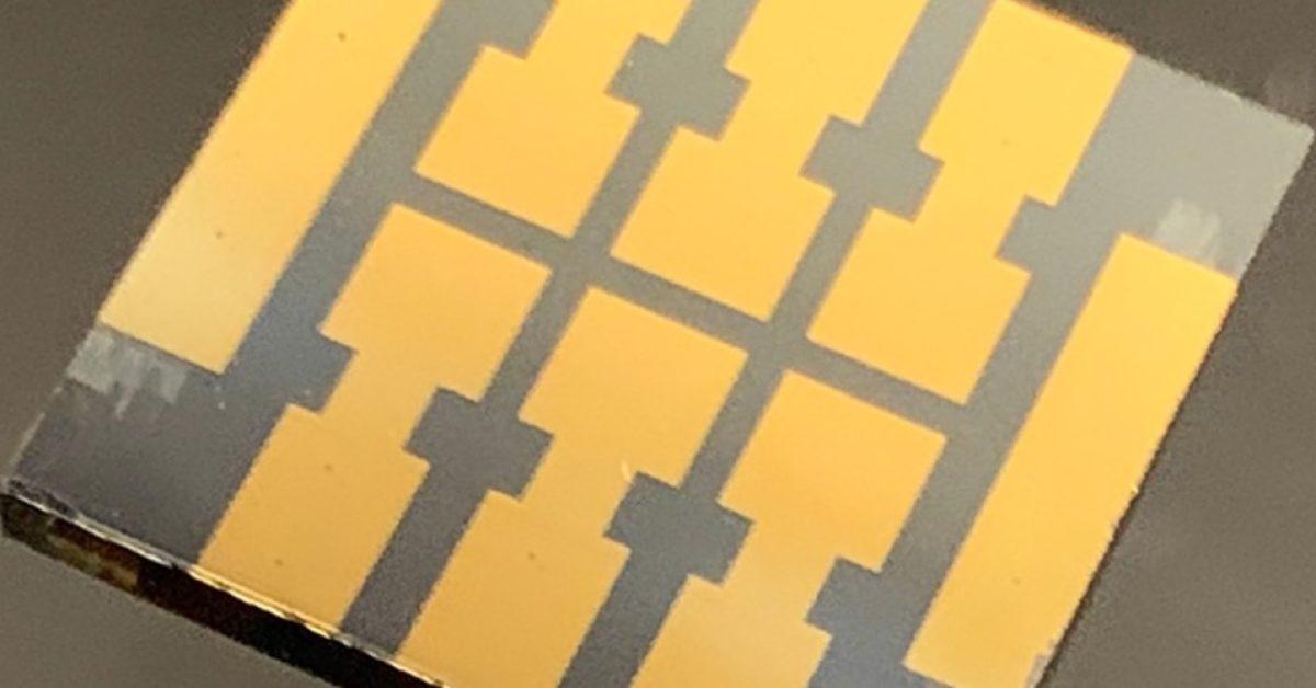 A 'molecular glue' discovery makes perovskite solar cells more durable