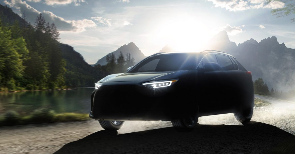 Subaru teases new Solterra all-electric SUV coming to the US next year - Electrek