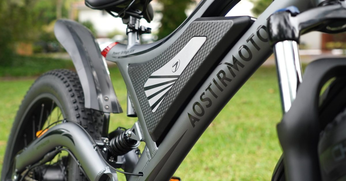 Full-suspension fat tire electric bike for cheap: Aostirmotor S18 review