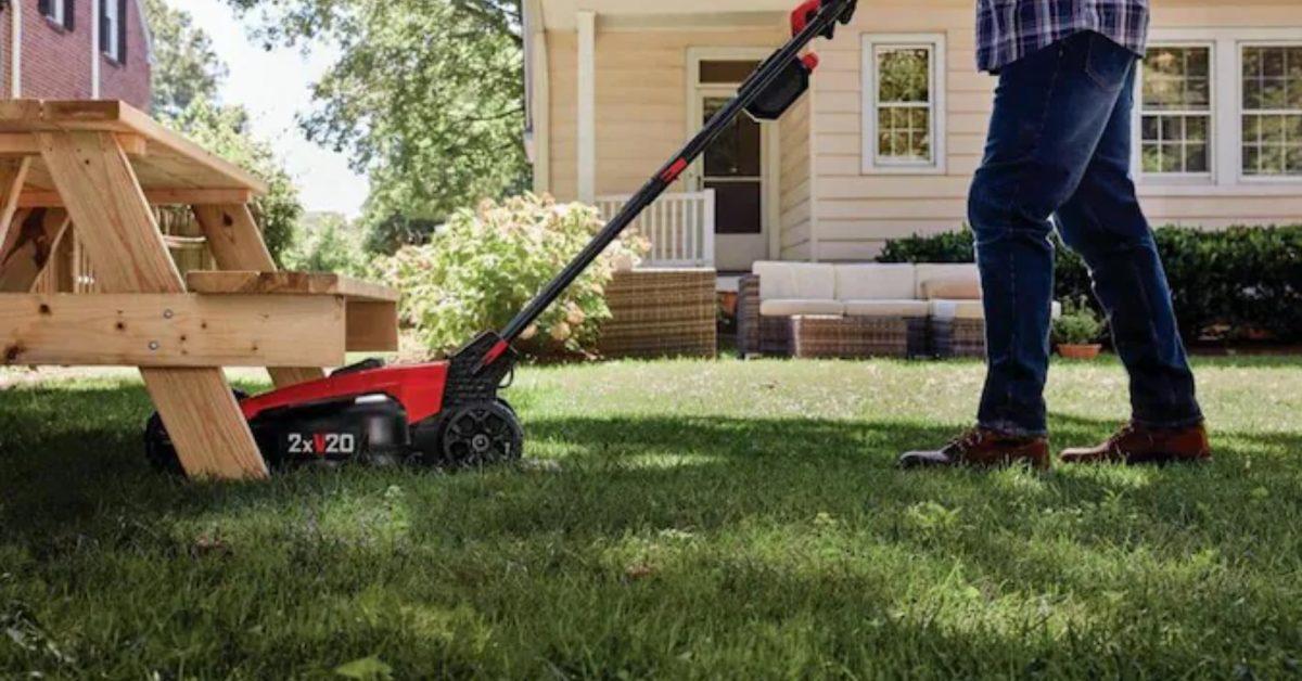 Green Deals: CRAFTSMAN 20V electric mower + string trimmer combo hits $299 (Save $129), more - Electrek