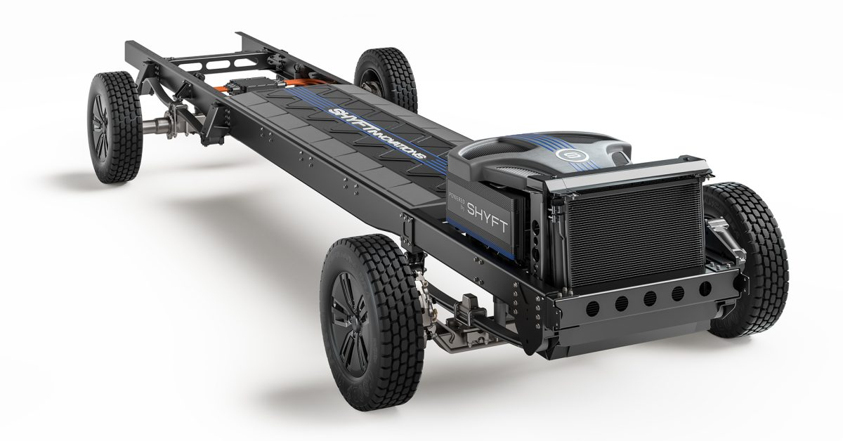 The Shyft Group introduces fully electric, purpose-built chassis platform - Electrek