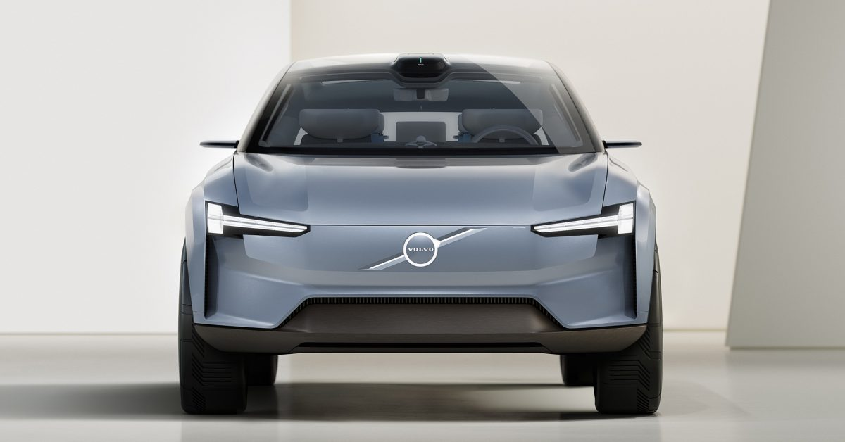 Volvo previews its all-electric future using its Concept Recharge EV - Electrek