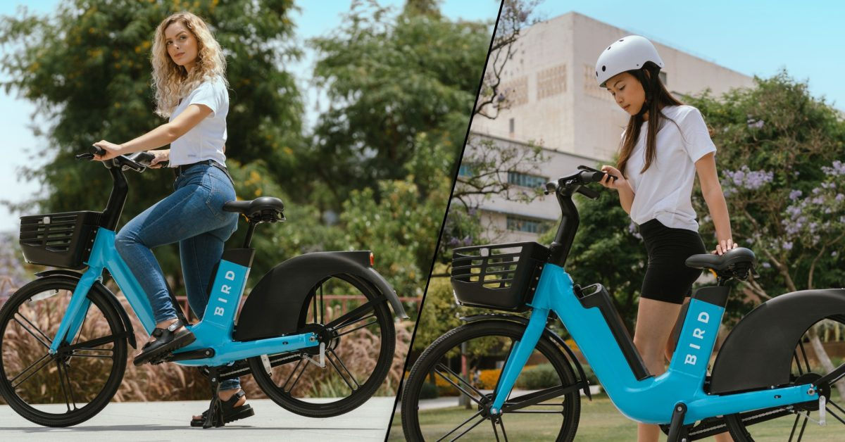 Bird Bike unveiled as shared electric bike, adding to Bird's e-scooter fleet