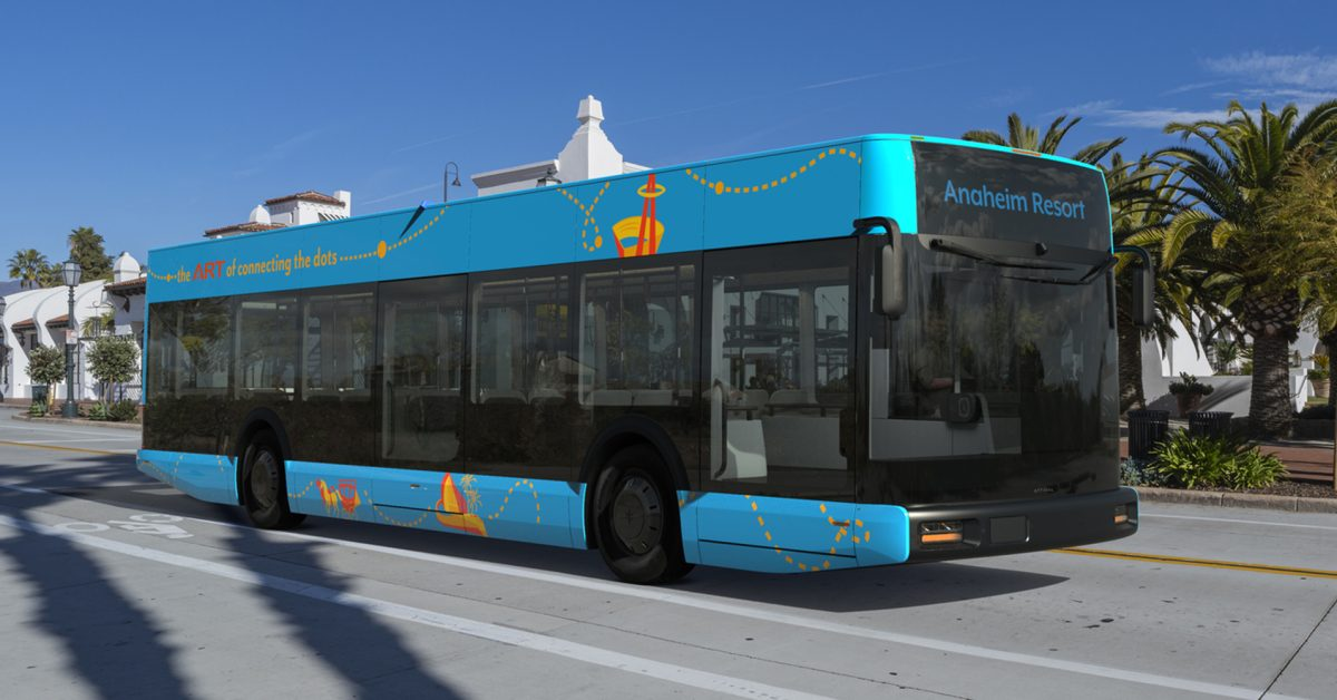 Anaheim, California, secures $2 million to purchase 5 Arrival buses