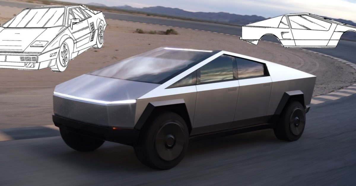 Tesla discloses Cybertruck design influences in fascinating new patent
