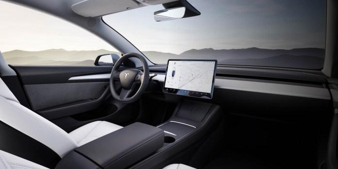 Tesla Model 3 Interior 2021 9to5game