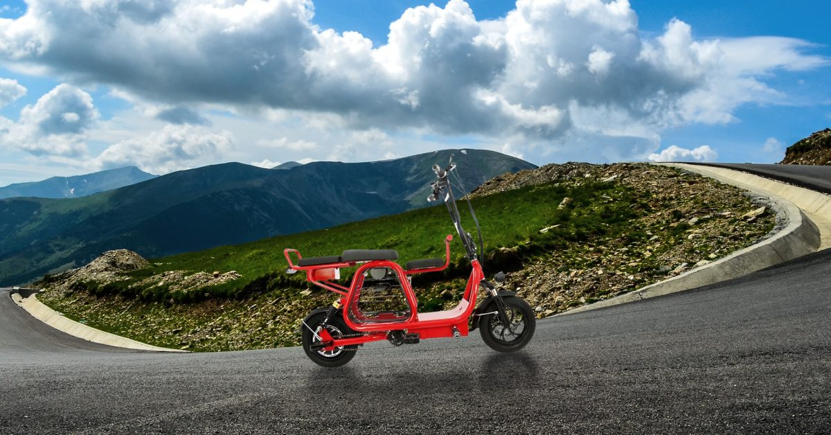 Awesomely Weird Alibaba Electric Vehicle of the Week: $750 3-passenger electric bike