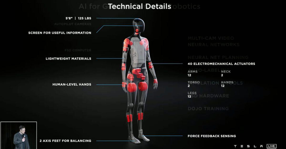 Tesla starts hiring roboticists for its 'Tesla Bot' humanoid robot project