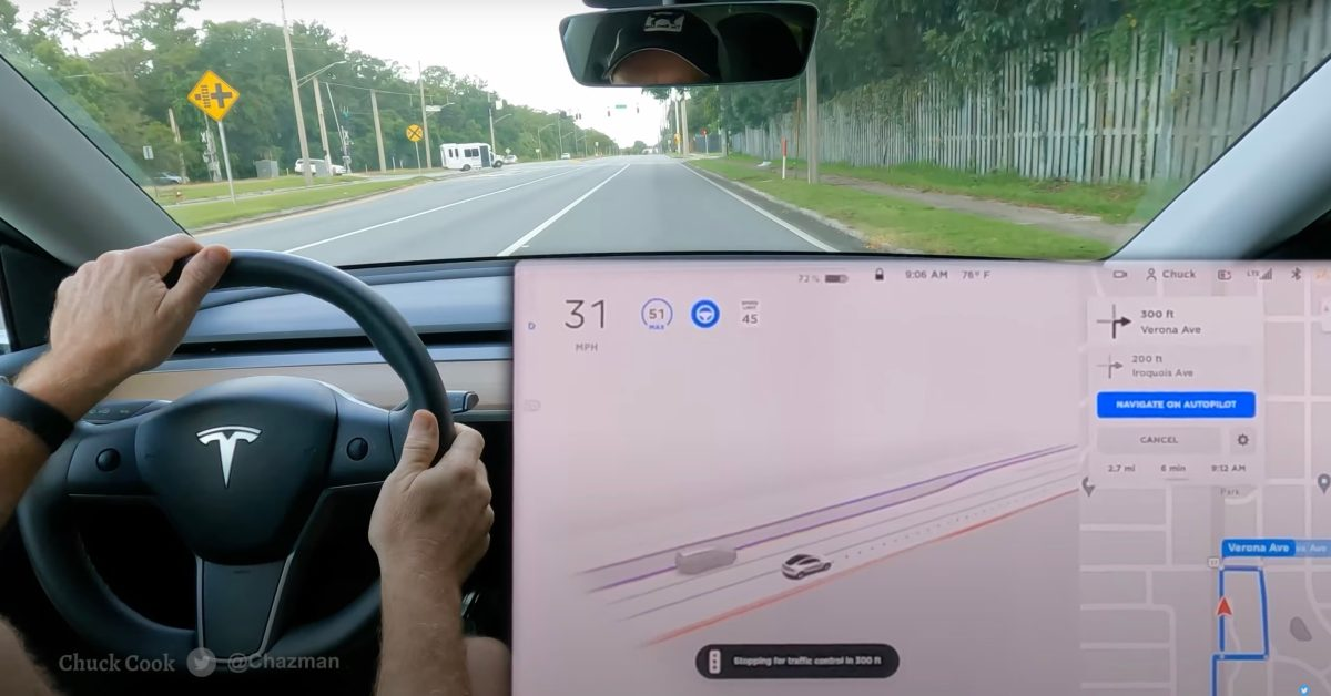 It was just over a month ago that Tesla released its long-awaited Full Self-Driving Beta v9 with its new Tesla Vision computer vision system. The upda