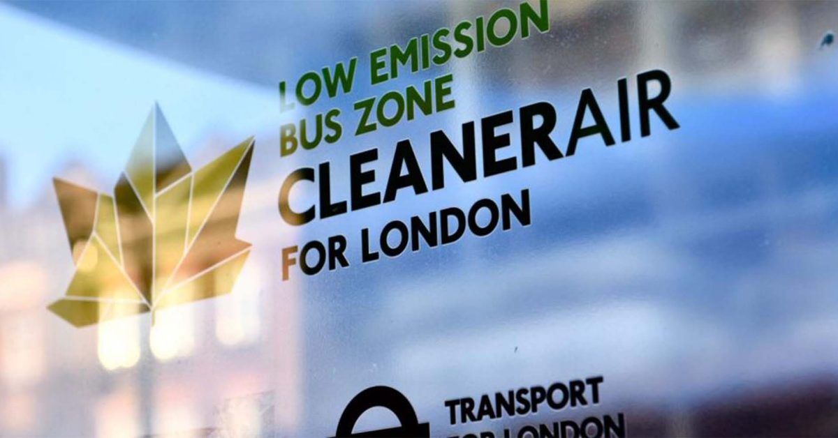 London mayor commits to all-electric buses moving forward, 100% zero emissions by 2034
