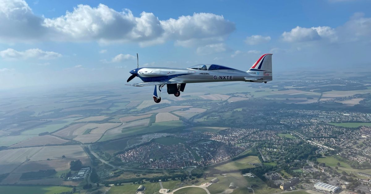 Rolls-Royce's electric airplane completes its maiden flight in the UK