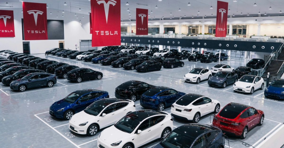 Tesla (TSLA) builds giant new delivery center in China as it expects big things to come