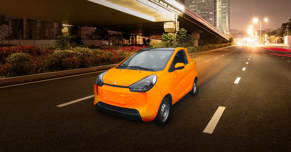 Awesomely Weird Alibaba EV of the Week: An electric car with a teeny tiny truck bed thumbnail