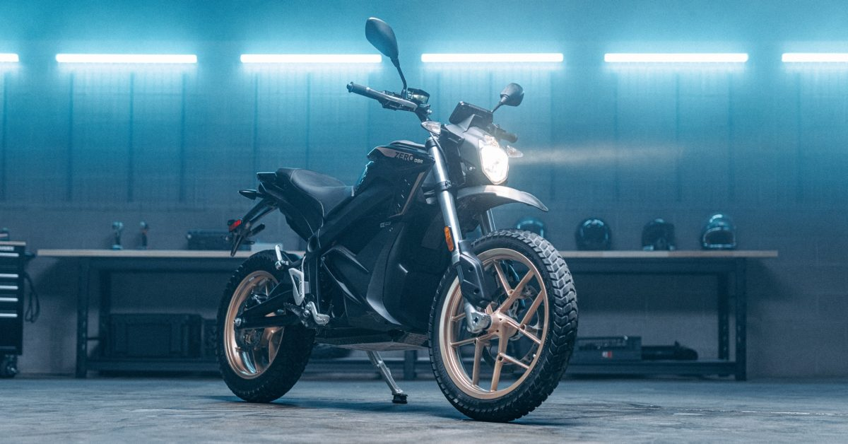 Zero releases early reveal of 2022 updates to its electric motorcycle models