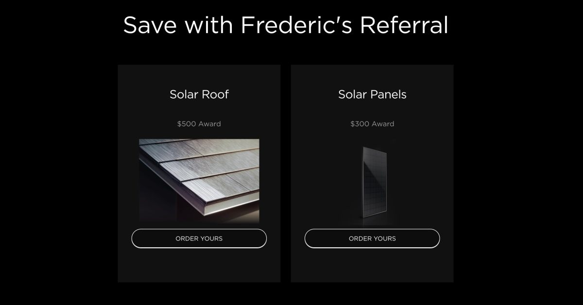 Tesla adds solar panels back to its referral program with $300 award