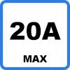 20A max - Câble de charge pour TESLA (13,8kW - Type 2)