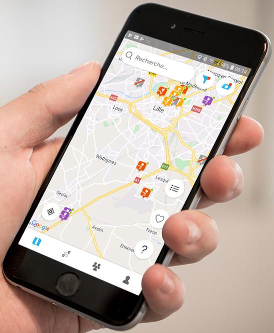 Chargemap recherche stations de recharge voiture electrique 1 - Les bornes de recharge publiques
