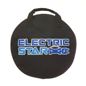 Bag for electric vehicle cables and mobile chargers