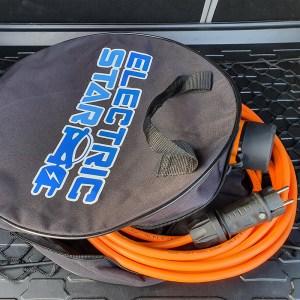 Tas voor elektrische voertuigkabels en mobiele laders