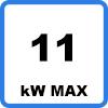 Max 11kW - Borne de recharge VE avec câble (jusqu'à 11kW)