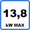 Max 138kW - Câble de charge pour TESLA (13,8kW - Type 2)