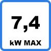 Max 74 - Borne de recharge KEBA P30 a-series (jusqu'à 7,4kW)