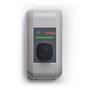 KEBA P30 x-series oplaadstation van 2,3kW tot 22kW met RFID, kWh MID-teller en WiFi / 4G / LTE-connectiviteit - 110618