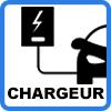 borne murale pour vehicule electrique - Borne de recharge VE avec câble (jusqu'à 22kW)