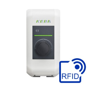Charging stations with RFID reader
