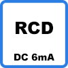 rcd dc 6ma - Borne de recharge VE (jusqu'à 3,7kW)