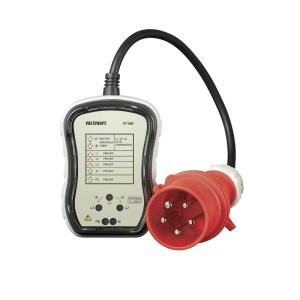 Three-phase CEE 5P 16A socket tester