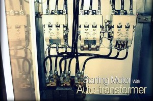 Starting Motor With Autotransformer
