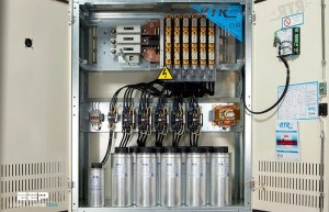 Calculate reactive power of a capacitor bank and improve power factor