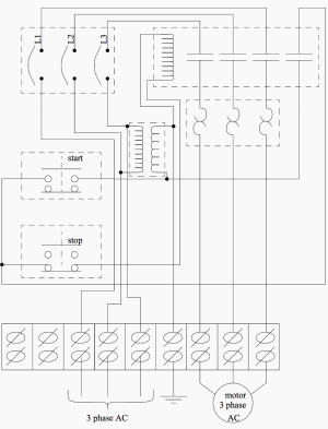 Basic electrical design of a PLC panel (Wiring diagrams) | EEP