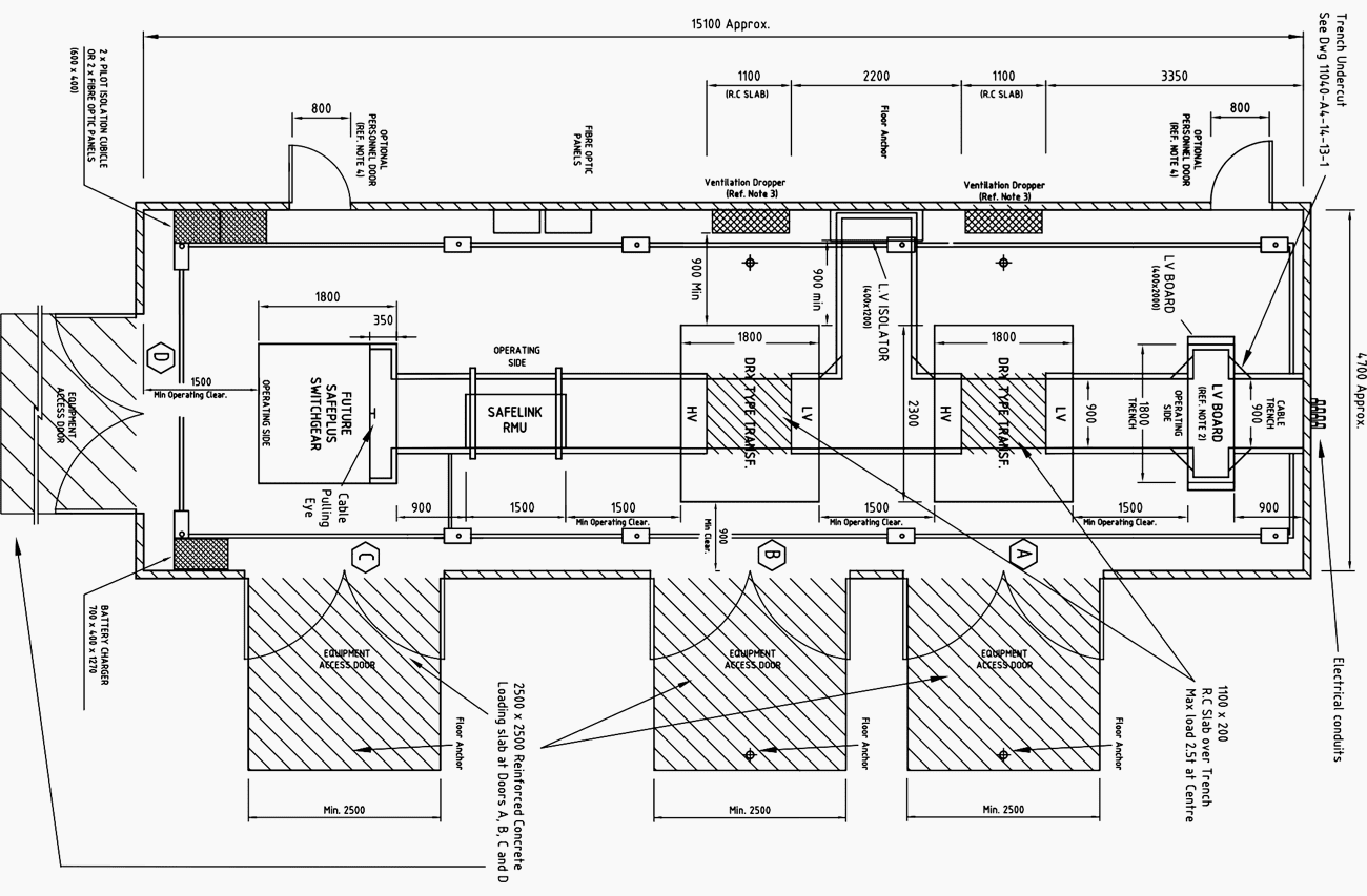 Commercial And Industrial Substation Manual Design And