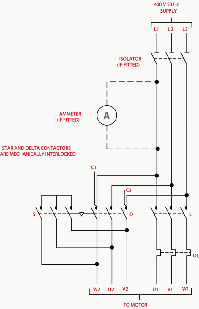 contactor as an important part of the motor control gear  eep