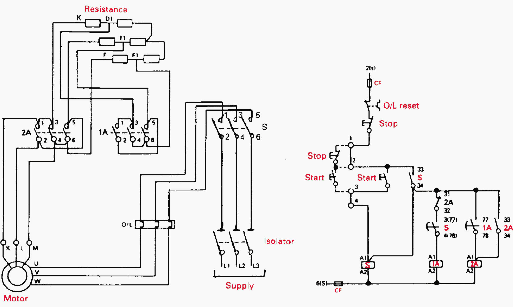 Contactor As An Important Part Of The Motor Control Gear