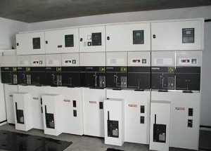The Consumer Power Substation With Metering On Medium Voltage Side