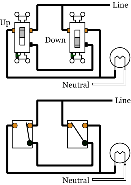 Alternate 3way Switches  Electrical 101